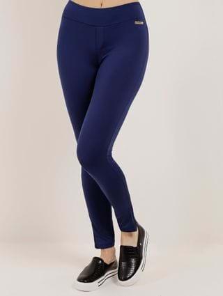 Calça Legging Feminina Azul Marinho