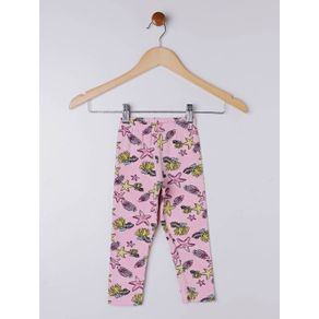 Calça Legging Infantil para Menina - Rosa 3