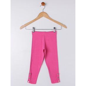 Calça Legging Infantil para Menina - Rosa 8