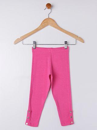 Calça Legging Infantil para Menina - Rosa