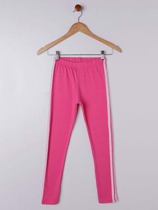 Calça Legging Juvenil para Menina - Rosa