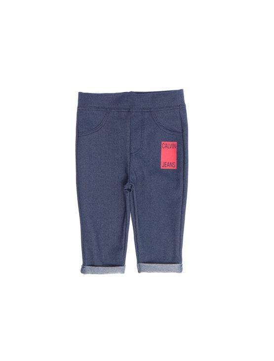 Calça Malha Estampa Calvin Jeans - 6M