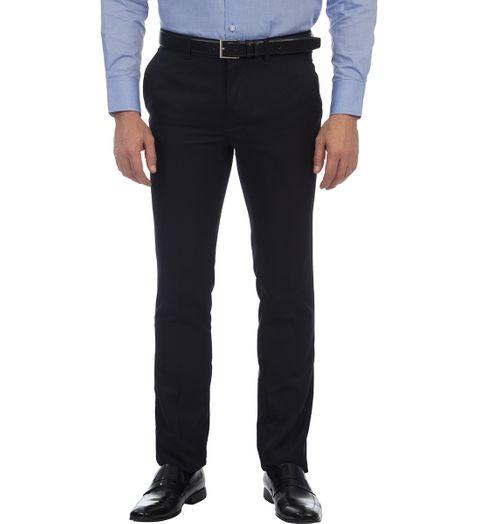 Calça Masculina Azul Marinho Texturizada - 46