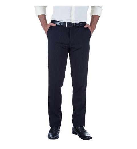 Calça Masculina Azul Marinho Texturizada - 48
