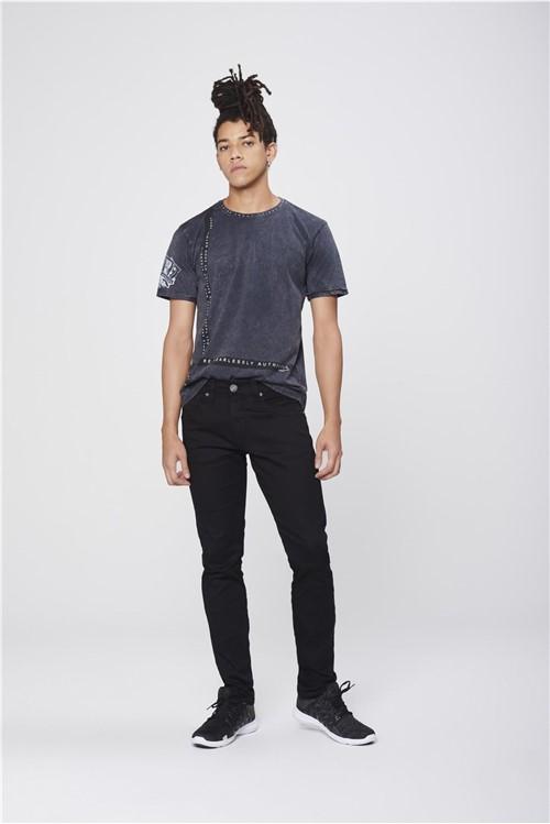 Calça Masculina Super Skinny Preta