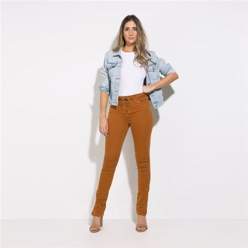 Calça Phoenix - Sarja Camelo - 34