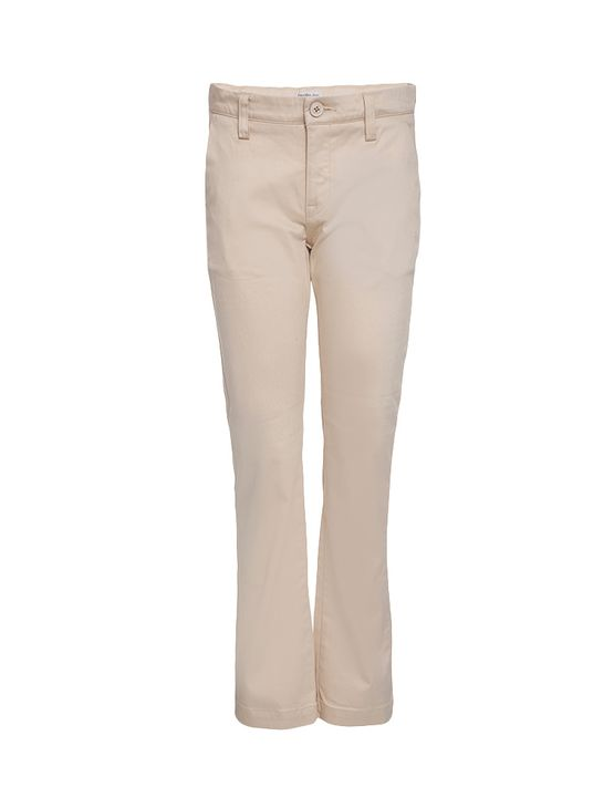 Calça Plano Infantil Calvin Klein Jeans Caqui Claro - 2