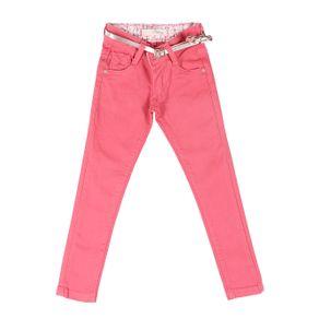 Calça Sarja Infantil para Menina - Rosa Calça Sarja Infantil para Menina Rosa 4
