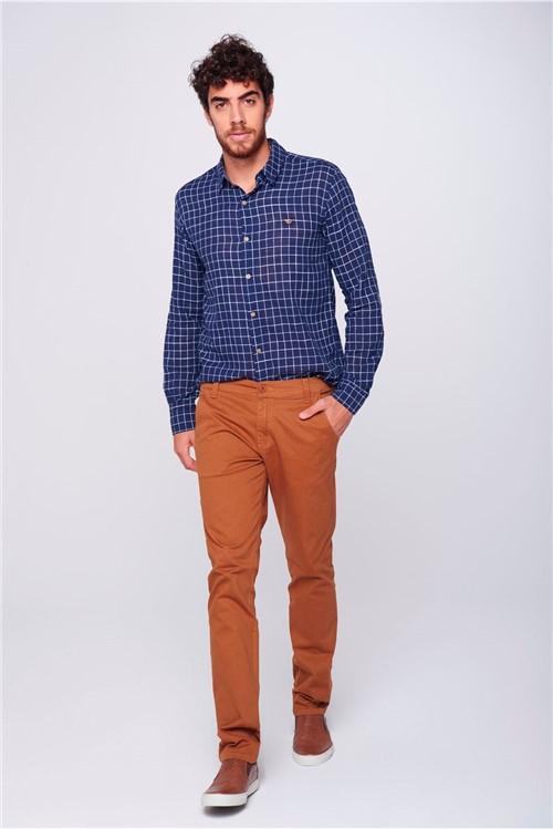 Calça Skinny Masculina Chino