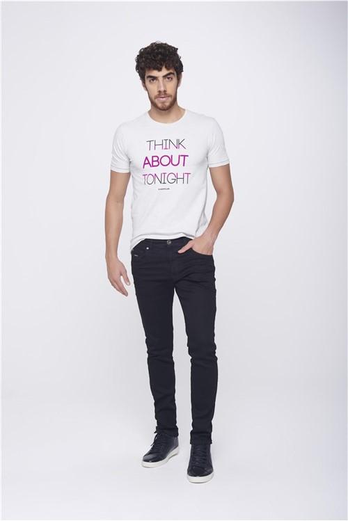 Calça Skinny Preta Masculina