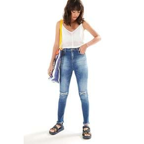 Calca Jeans Skinny Rasgo Joelho Jeans - 38