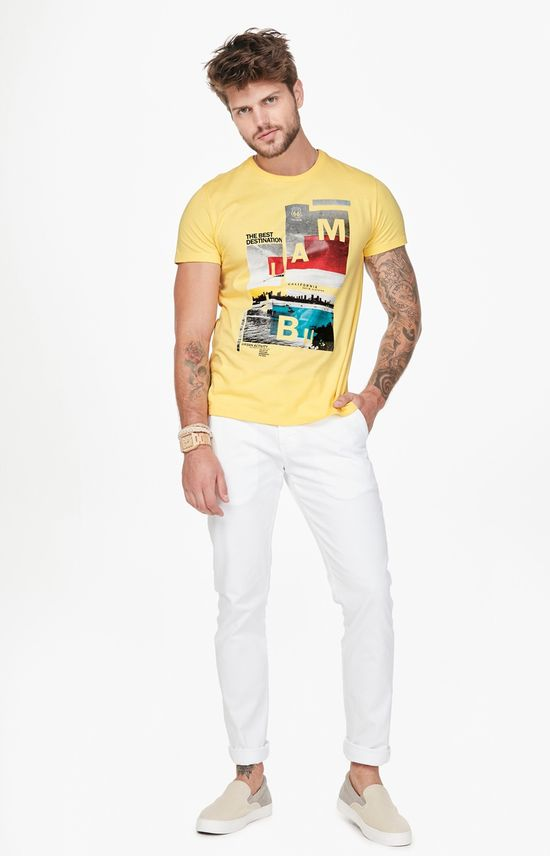 Calça Slim Cintura Média Enfim Branco - 40