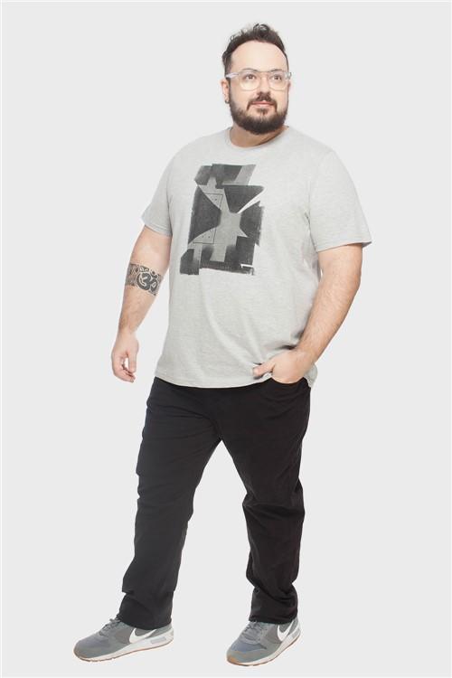 Calça Slim Plus Size Preto-52