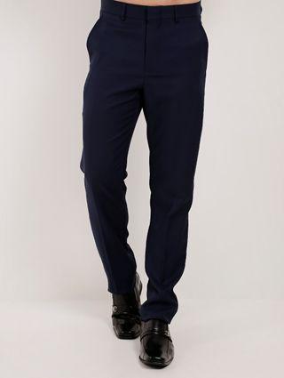 Calça Social Masculina Azul Marinho