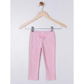 Calça Veludo Infantil para Menina - Rosa 1
