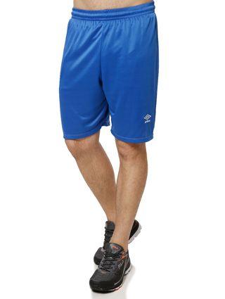 Calção de Futebol Masculino Umbro Azul/branco