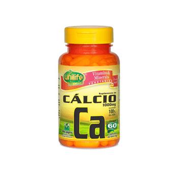 Cálcio Quelado CA 60 Cápsulas Unilife