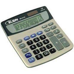 Calculador de Mesa C/ Visor e 12 Dígitos - MV4123 - Elgin