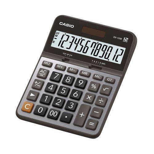 Calculadora Casio de Mesa 12 Dígitos Dx-120B Casio