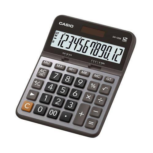 Calculadora Casio de Mesa 12 Dígitos Dx-120b