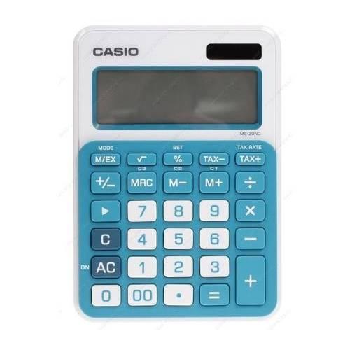 Calculadora Casio Ms 20nc Bu S Dc