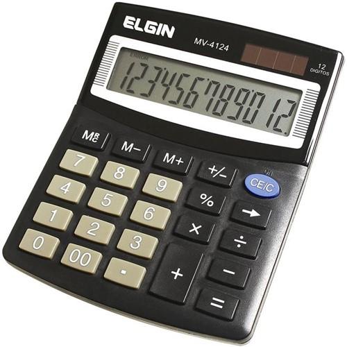 Calculadora de 12 Dígitos MV-4124 - Elgin