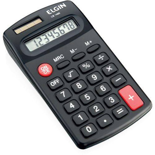 Calculadora de Bolso 8 Digitos Cb 1485 Preto Elgin