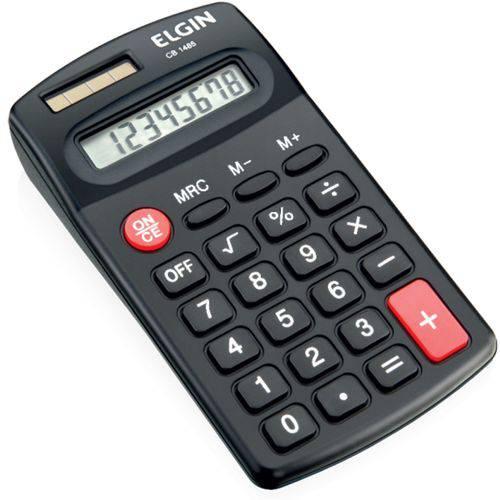 Calculadora de Bolso Cb1485 Preto Elgin