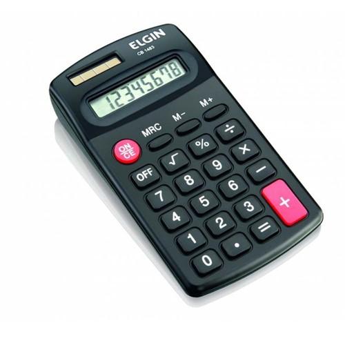 Calculadora de Bolso com 8 Dígitos CB 1483 Elgin