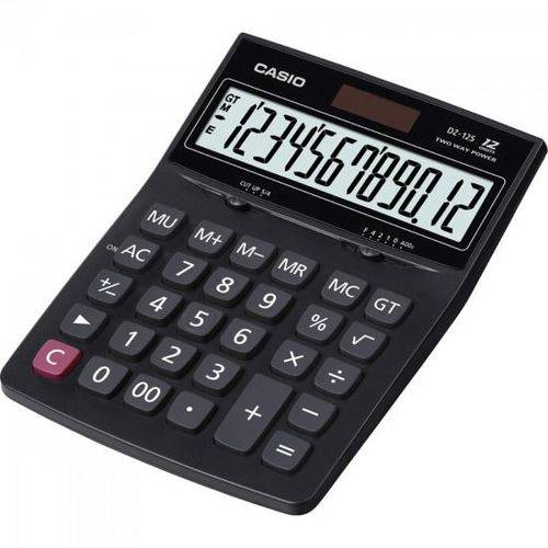 Calculadora de Mesa 12 Dígitos DZ-12S Preta CASIO