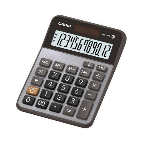 Calculadora de Mesa 12 Dígitos Mx-120b - Casio