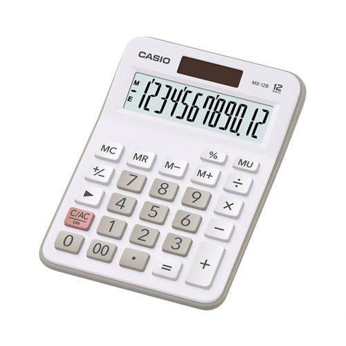 Calculadora de Mesa 12 Dígitos Mx-12b Branca Casio