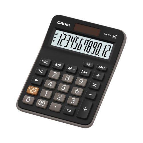 Calculadora de Mesa 12 Dígitos Mx-12b - Casio