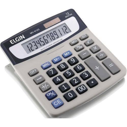 Calculadora de Mesa 12dig.visor Lcd Solar/bat.g10 (7897013517402)