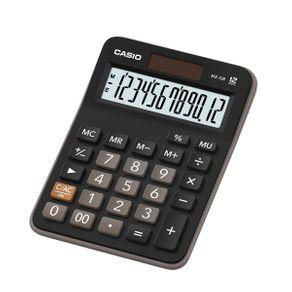 Calculadora de Mesa Casio MX-12B-S4-DC Preta