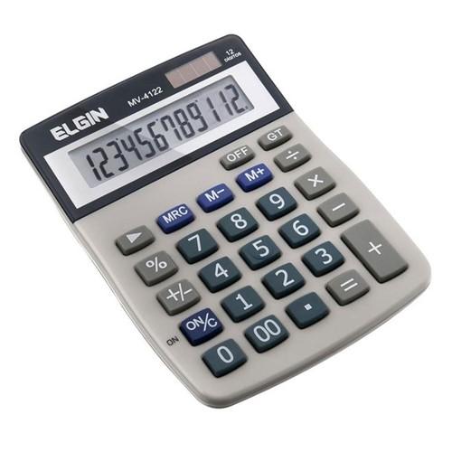 Calculadora de Mesa com Visor MV-4122 - Elgin
