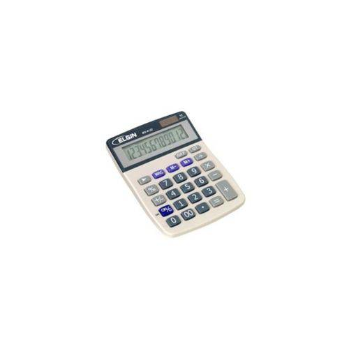 Calculadora de Mesa Eletrônica Mv-4122 Cinza Elgin