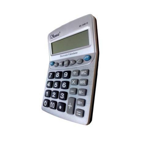 Calculadora de Mesa Kk-1048-12 Kenko 12 Digito Prata