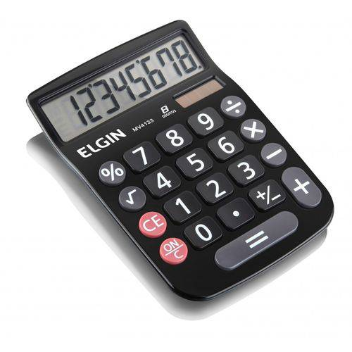 Calculadora de Mesa Mv 4133, 8 Dígitos - Elgin