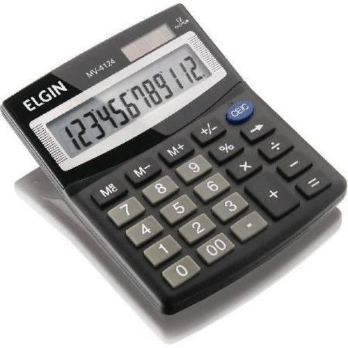 Calculadora de Mesa Mv-4124