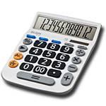 Calculadora de Mesa MV4132 12 Dígitos - Elgin