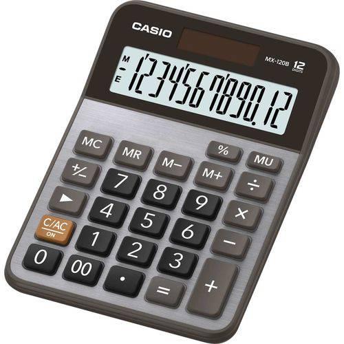 Calculadora de Mesa Mx120b-s4-dc Metalizada 12dig.