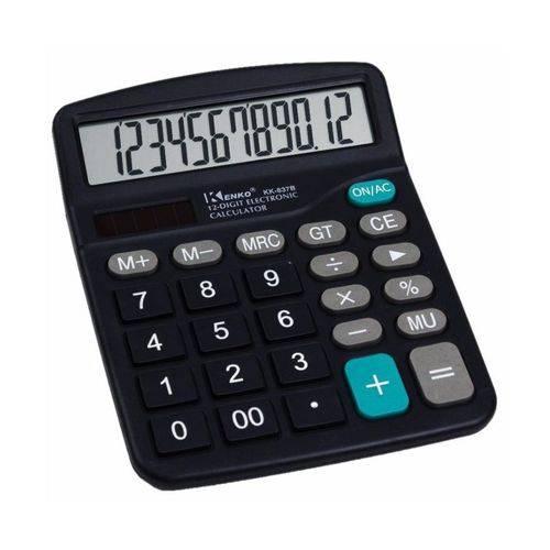 Calculadora Eletrônica KK 837B Kenko 12 Dígitos
