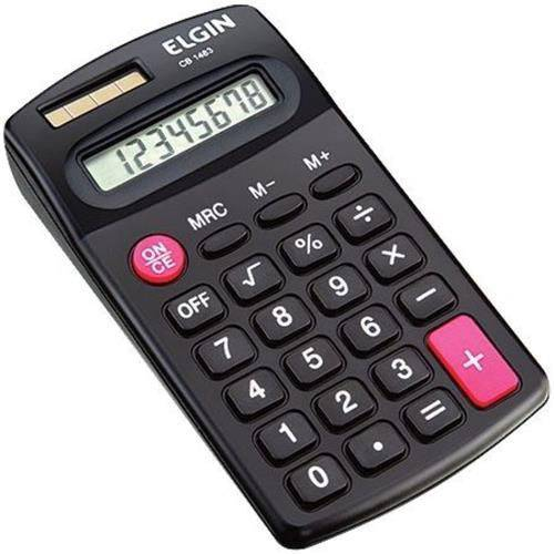 Calculadora Elgin CB1483 Bolso Preta