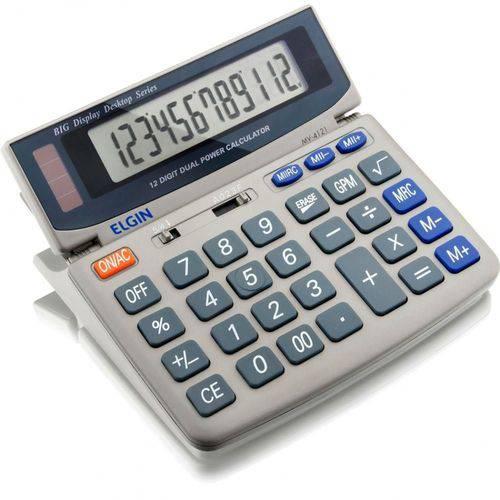 Calculadora Elgin MV 4121 12 Digitos Mesa