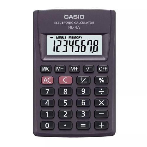 Calculadora Hl 4a - Casio