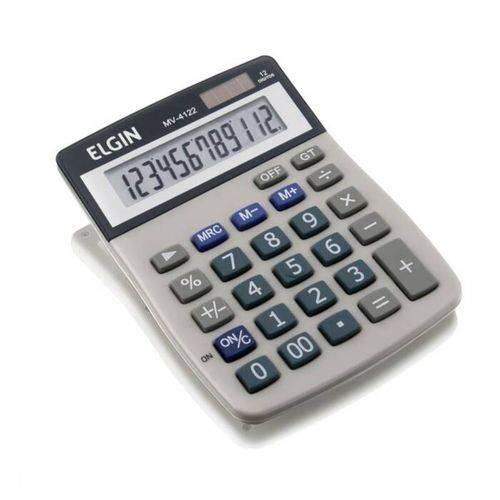 Calculadora Mesa 12 Digitos Elgin Mv 4122