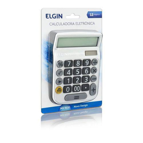 Calculadora Mesa Branca Mv4132 Elgin
