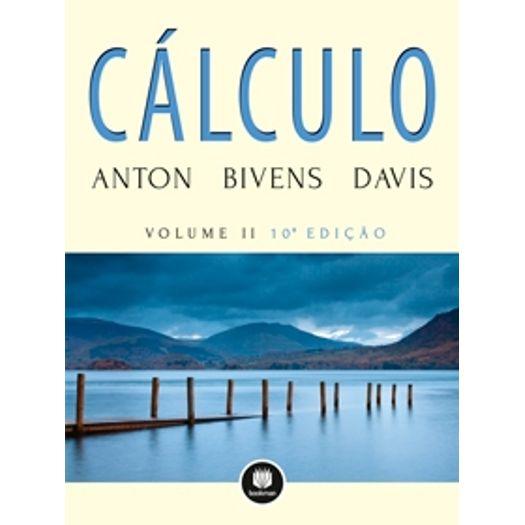 Calculo Vol Ii - Anton - Bookman
