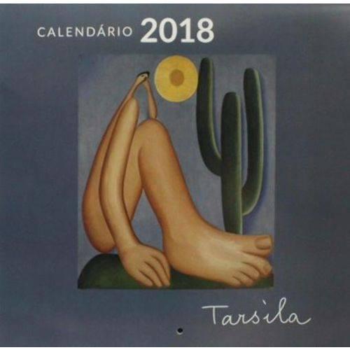 Calendário 2018 - Tarsila do Amaral - Parede